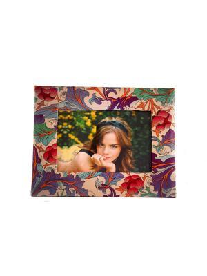 Фоторамка Очарование для фото 18*13см, 25*19см Русские подарки. Цвет: зеленый, фиолетовый, оранжевый, белый