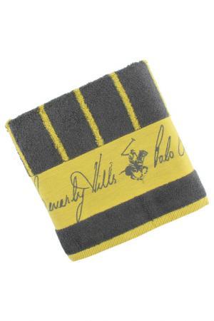 Полотенце для рук, 50х100 Beverly Hills Polo Club. Цвет: grey and yellow
