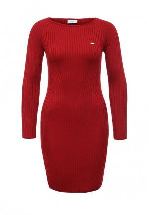 Платье U.S. Polo Assn.. Цвет: красный
