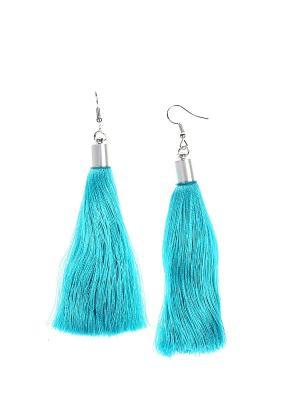 Серьги Olere. Цвет: серебристый, голубой