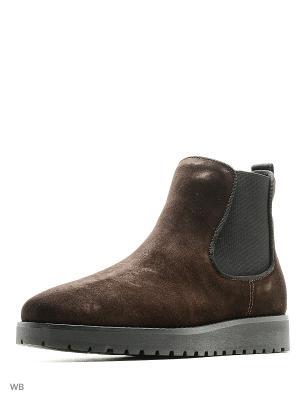 Ботинки Tommy Hilfiger. Цвет: темно-коричневый
