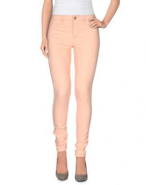 Повседневные брюки JACQUELINE de YONG. Цвет: абрикосовый
