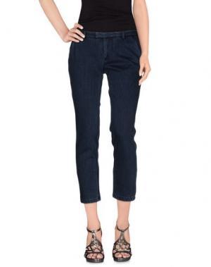 Джинсовые брюки ..,MERCI. Цвет: синий