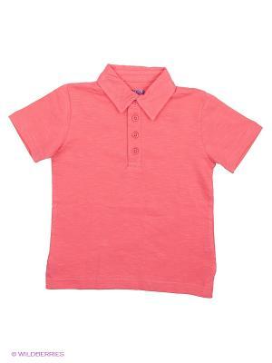 Футболка-Поло Modis. Цвет: коралловый, розовый