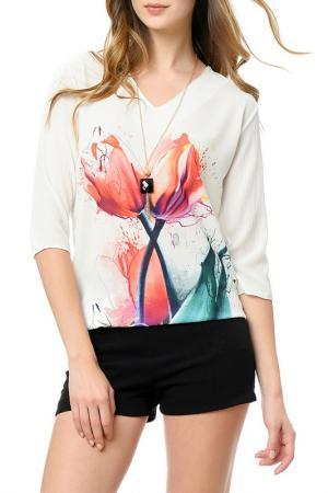 Блуза Dewberry. Цвет: белый