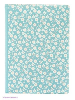 Обложка для паспорта Ситец Kawaii Factory. Цвет: голубой