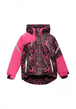 Куртка утепленная Modis. Цвет: разноцветный