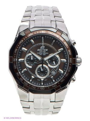 Часы EDIFICE EF-540D-5A CASIO. Цвет: серебристый