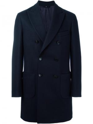 Пальто Gargano Hevo. Цвет: синий