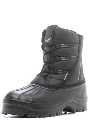 Ботинки Janett. Цвет: черный