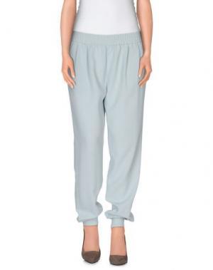 Повседневные брюки JOIE. Цвет: небесно-голубой