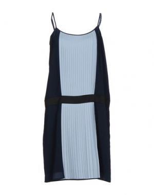 Платье до колена EMMA&GAIA. Цвет: небесно-голубой