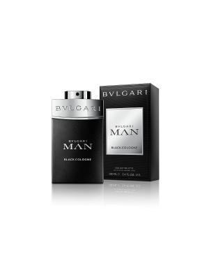 Туалетная вода Bvlgari Man Black Cologne 100 мл. Цвет: прозрачный