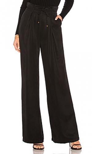 Широкие брюки hosper YFB CLOTHING. Цвет: черный