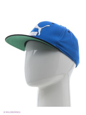 Бейсболка LS ColourBlock SnapBack Puma. Цвет: голубой