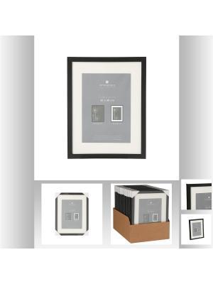 Рамка для фото 30х40 см, цвет черный JJA. Цвет: черный