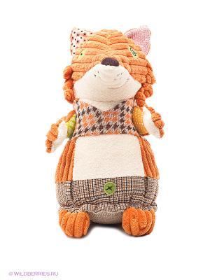 Игрушка Лисичка Deglingos. Цвет: оранжевый