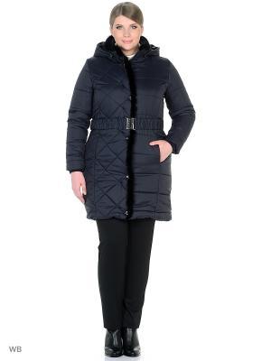 Пальто Castlelady. Цвет: синий