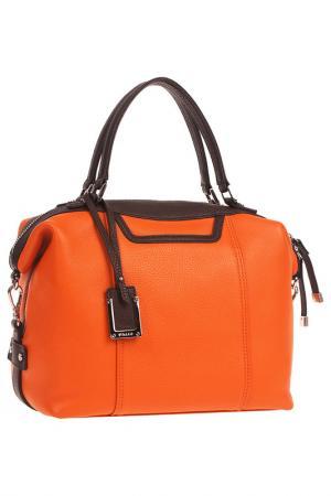 Сумка Palio. Цвет: оранжевый, темно-коричневый
