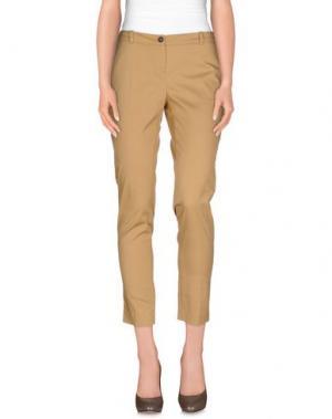Повседневные брюки ANIYE BY. Цвет: верблюжий