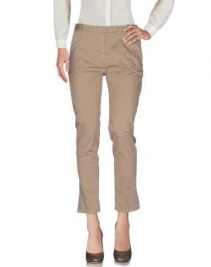 Повседневные брюки QCQC. Цвет: верблюжий