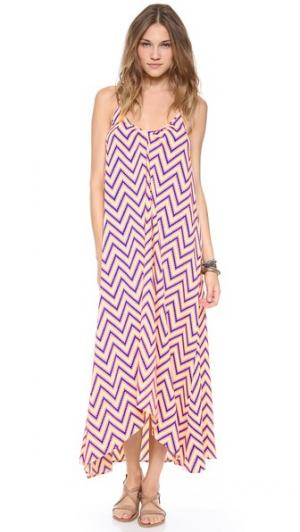 Макси-платье Resort ONE by Pink Stitch. Цвет: белый