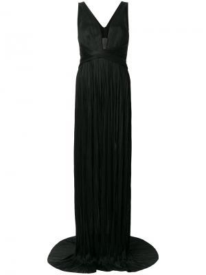 Pleated gown Maria Lucia Hohan. Цвет: чёрный
