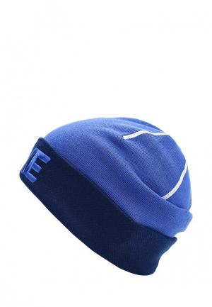 Шапка Nike. Цвет: синий
