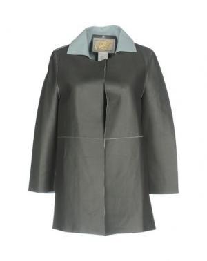 Легкое пальто VINTAGE DE LUXE. Цвет: свинцово-серый
