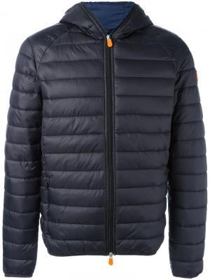 Hooded padded jacket Save The Duck. Цвет: чёрный
