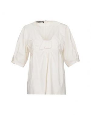 Блузка AQUILANO-RIMONDI. Цвет: слоновая кость