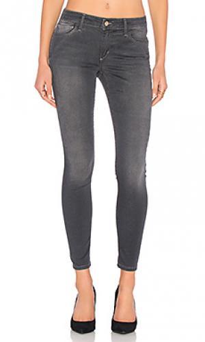 Скинни джинсы до лодыжек the icon Joes Jeans Joe's. Цвет: серый