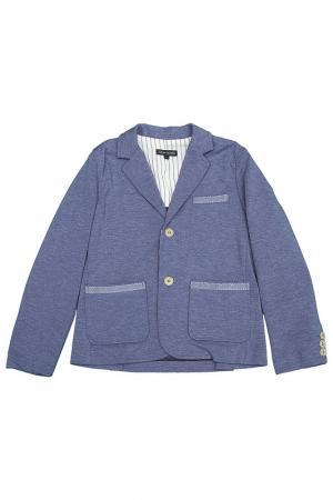 Пиджак ASTON MARTIN. Цвет: голубой