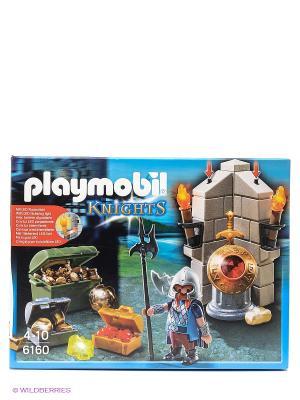 Рыцари Хранитель царских сокровищ Playmobil. Цвет: голубой