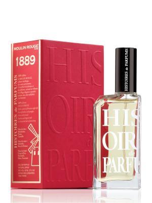 Парфюмерная вода 1889 60 мл HISTOIRES de PARFUMS. Цвет: прозрачный