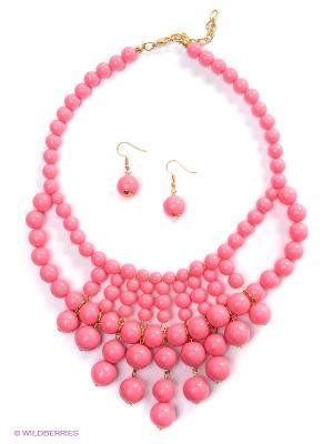 Комплект Royal Diamond. Цвет: розовый