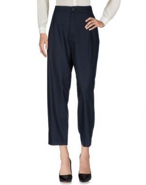 Повседневные брюки TELA. Цвет: темно-синий