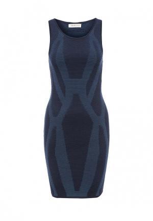 Платье Urban Bliss. Цвет: синий