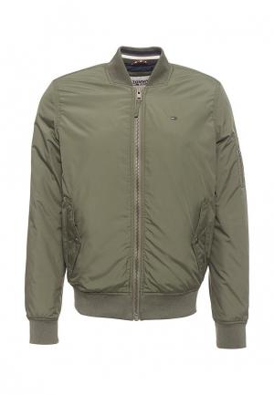 Куртка утепленная Tommy Jeans. Цвет: хаки