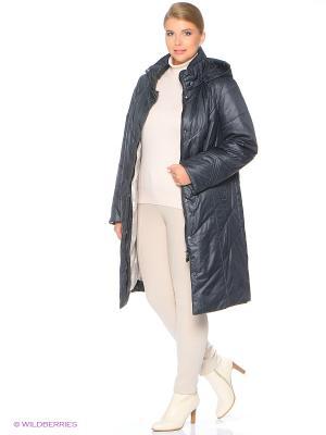 Утепленное пальто MONTSERRAT. Цвет: индиго