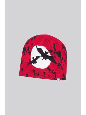 Шапка OKWAY. Цвет: красный