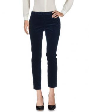 Повседневные брюки ROOM 52. Цвет: темно-синий