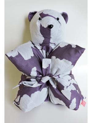 Декоративная подушка Mammi. Цвет: фиолетовый