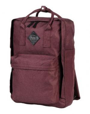 Рюкзаки и сумки на пояс VANS. Цвет: баклажанный