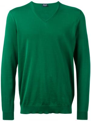 V-neck jumper Drumohr. Цвет: none