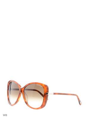 Солнцезащитные очки FT 9324 56F Tom Ford. Цвет: серый