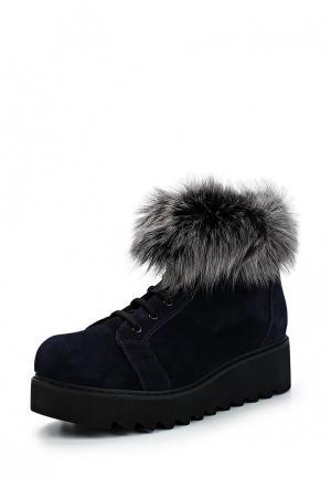 Ботинки Tuffoni. Цвет: синий