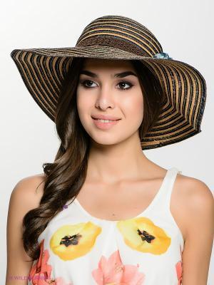 Шляпа FOMAS. Цвет: темно-синий, бежевый