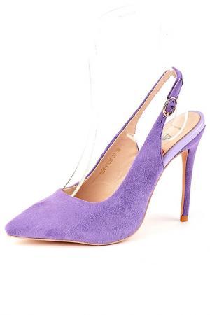 Босоножки Riccorona. Цвет: фиолетовый