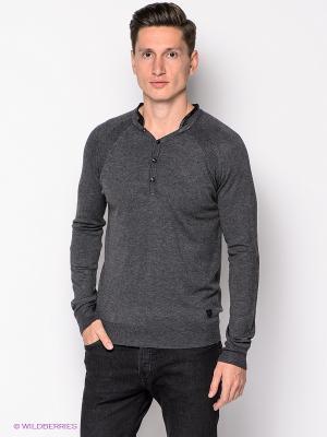 Пуловер Mezaguz. Цвет: темно-серый